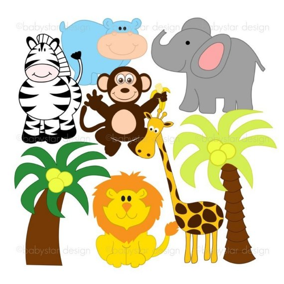 clip art jungle animals by clipart panda free clipart images rh clipartpanda com safari animals clipart black and white baby safari animals clipart