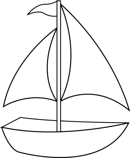 Boat Clipart Black And White | Clipart Panda - Free Clipart Images