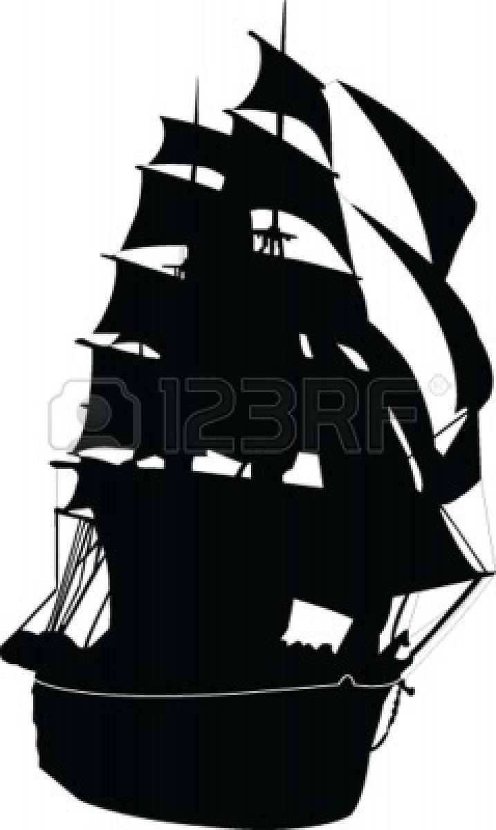 Similiar Ship Silhouette Vector Keywords
