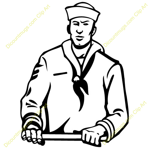 how to draw a navy soldier