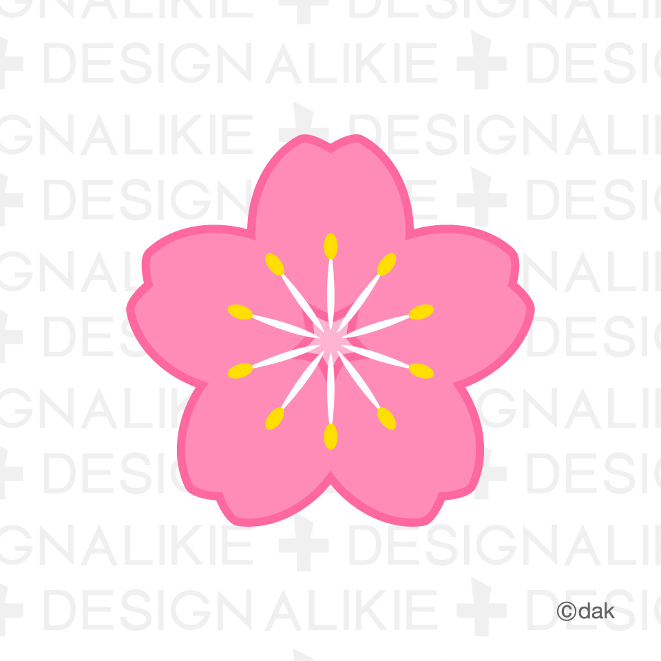 Flower symbol of the cherry clipart panda free clipart images sakura flower clip art biocorpaavc Choice Image