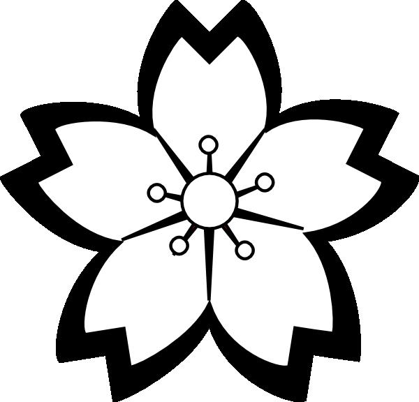 hawaiian flower clip art black and white clipart panda free rh clipartpanda com flower black and white clipart png flower pot black and white clipart