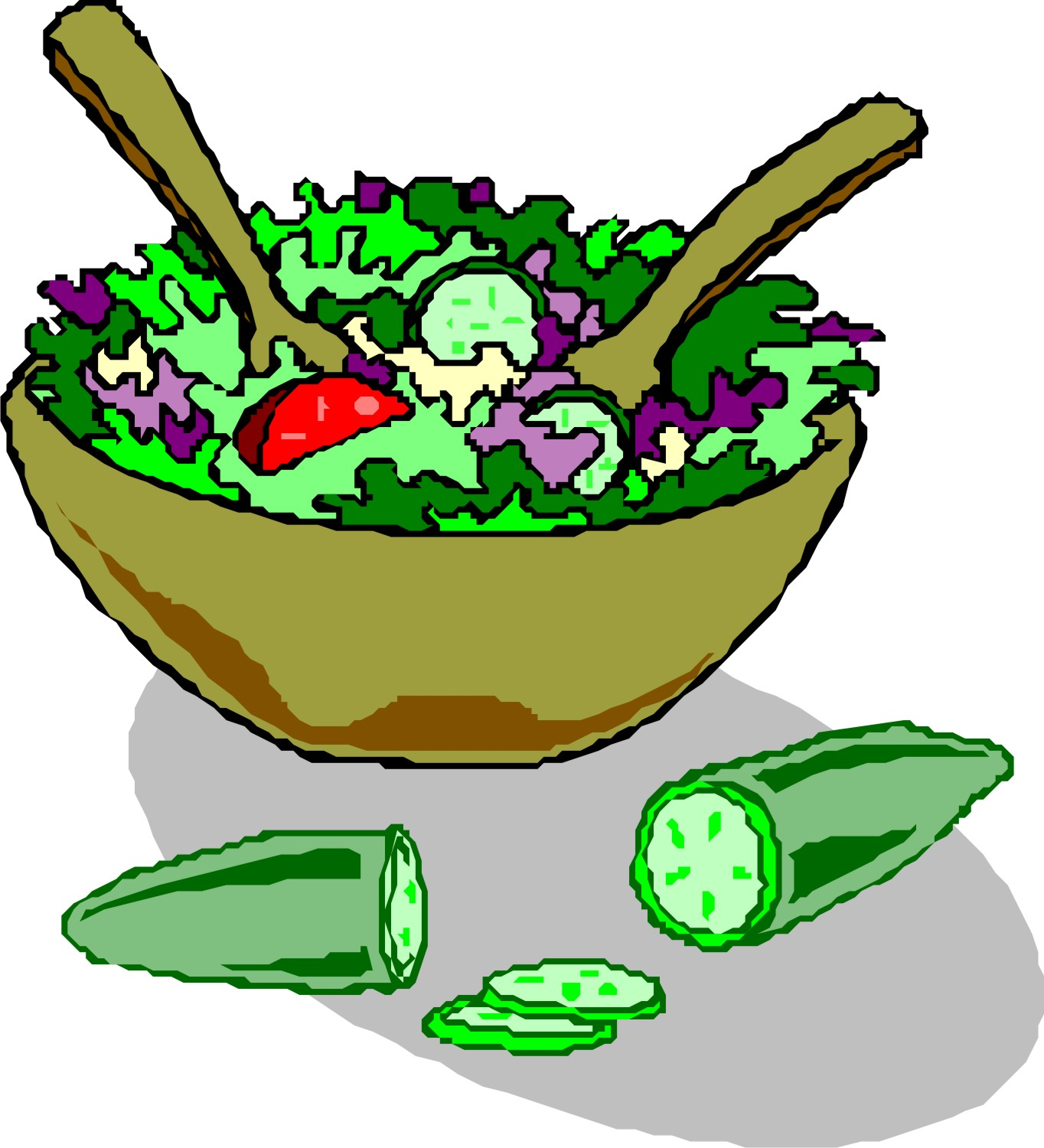 Salad Clipart | Clipart Panda - Free Clipart Images