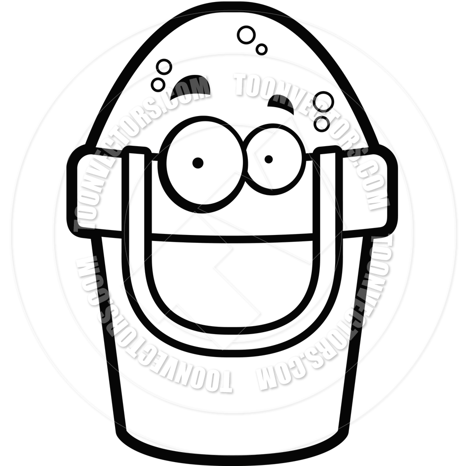 Sand Bucket Clipart Black And White | Clipart Panda - Free Clipart ...