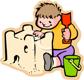Sand Castle Clipart Black And White | Clipart Panda - Free Clipart ...