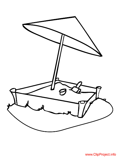 Sandbox Coloring Pages | Clipart Panda - Free Clipart Images
