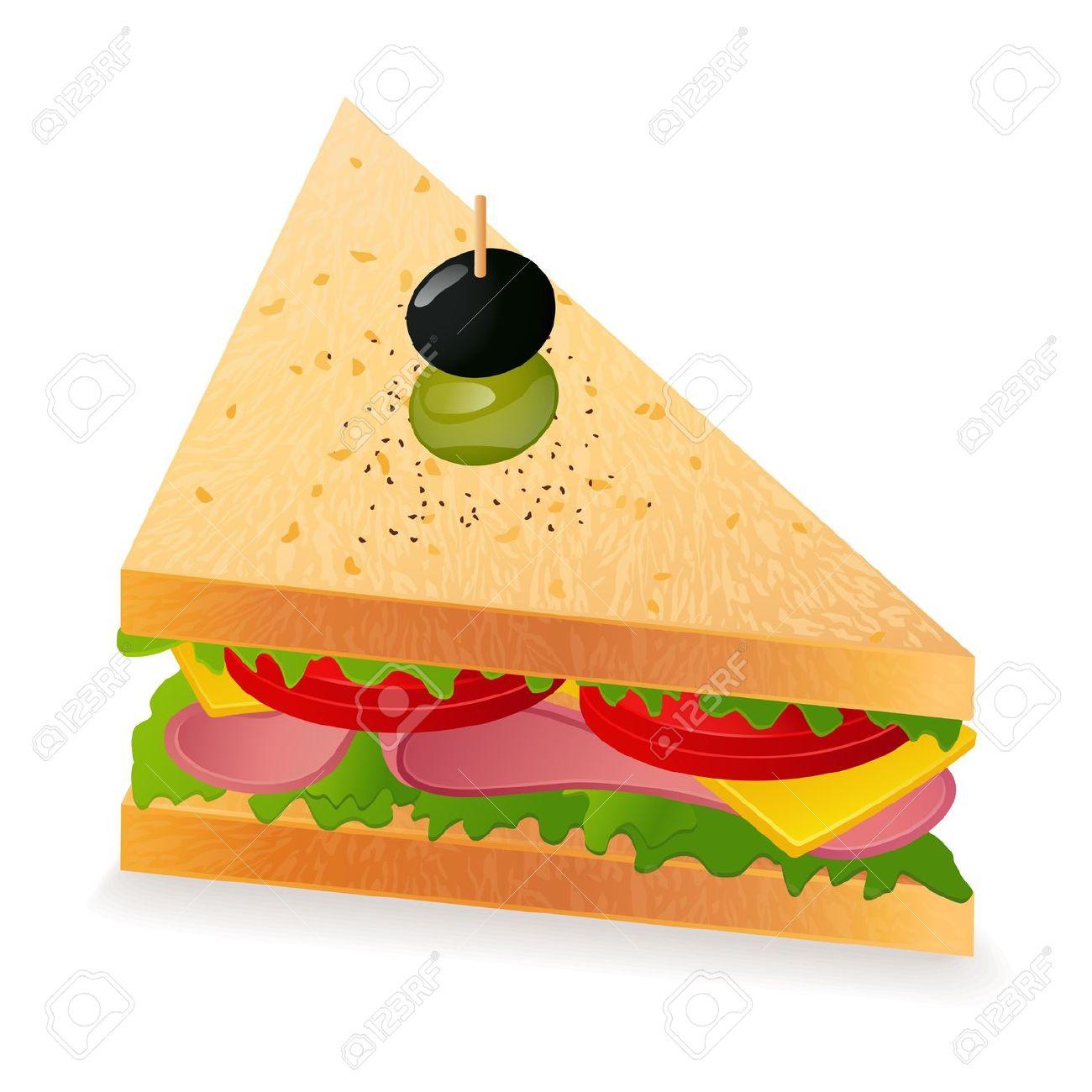 Sandwich Clip Art Free...
