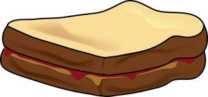 Peanut Butter Sandwich Clipart | Clipart Panda - Free ...