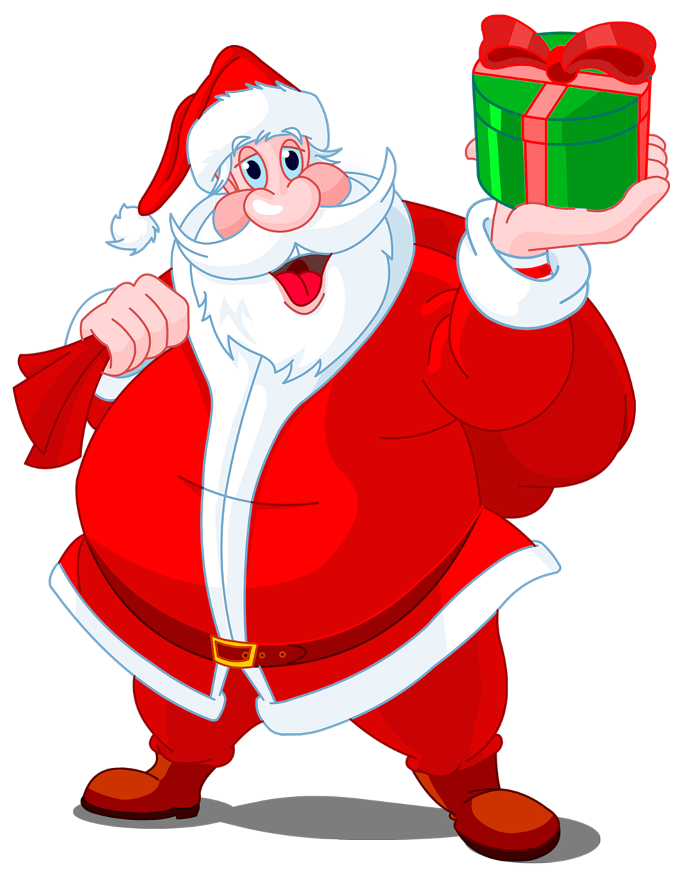 ... Clip Art Free furthermore Santa Claus Clip Art Transparent. on merry