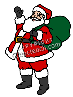 picture about Santa Claus Printable Pictures named shade clip artwork santa claus Clipart Panda - Absolutely free Clipart Shots