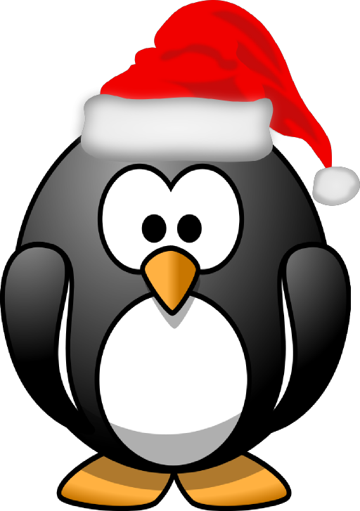 Santa Penguin Clipart | Clipart Panda - Free Clipart Images
