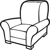 couch clipart black and white. sat%20in%20a%20chair%20clipart couch clipart black and white r