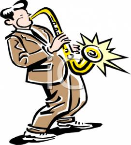 Saxophonist Clipart | Clipart Panda - Free Clipart Images