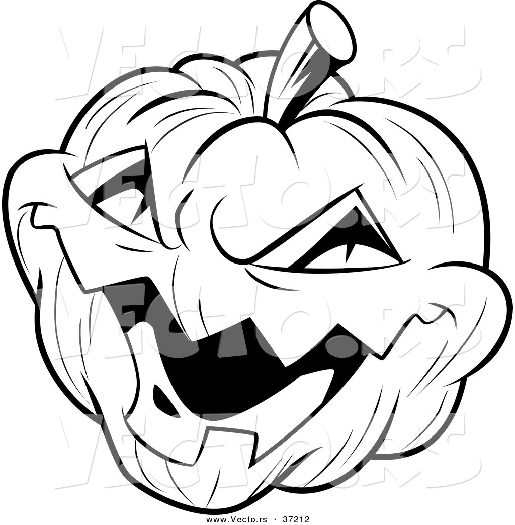 Line Art Halloween : Black and white halloween pumpkin clipart panda