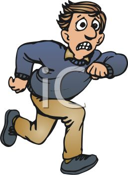 People Running Scared Clipart | Clipart Panda - Free ...