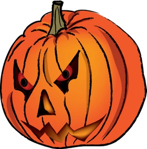 jack o lantern faces clip art - photo #38