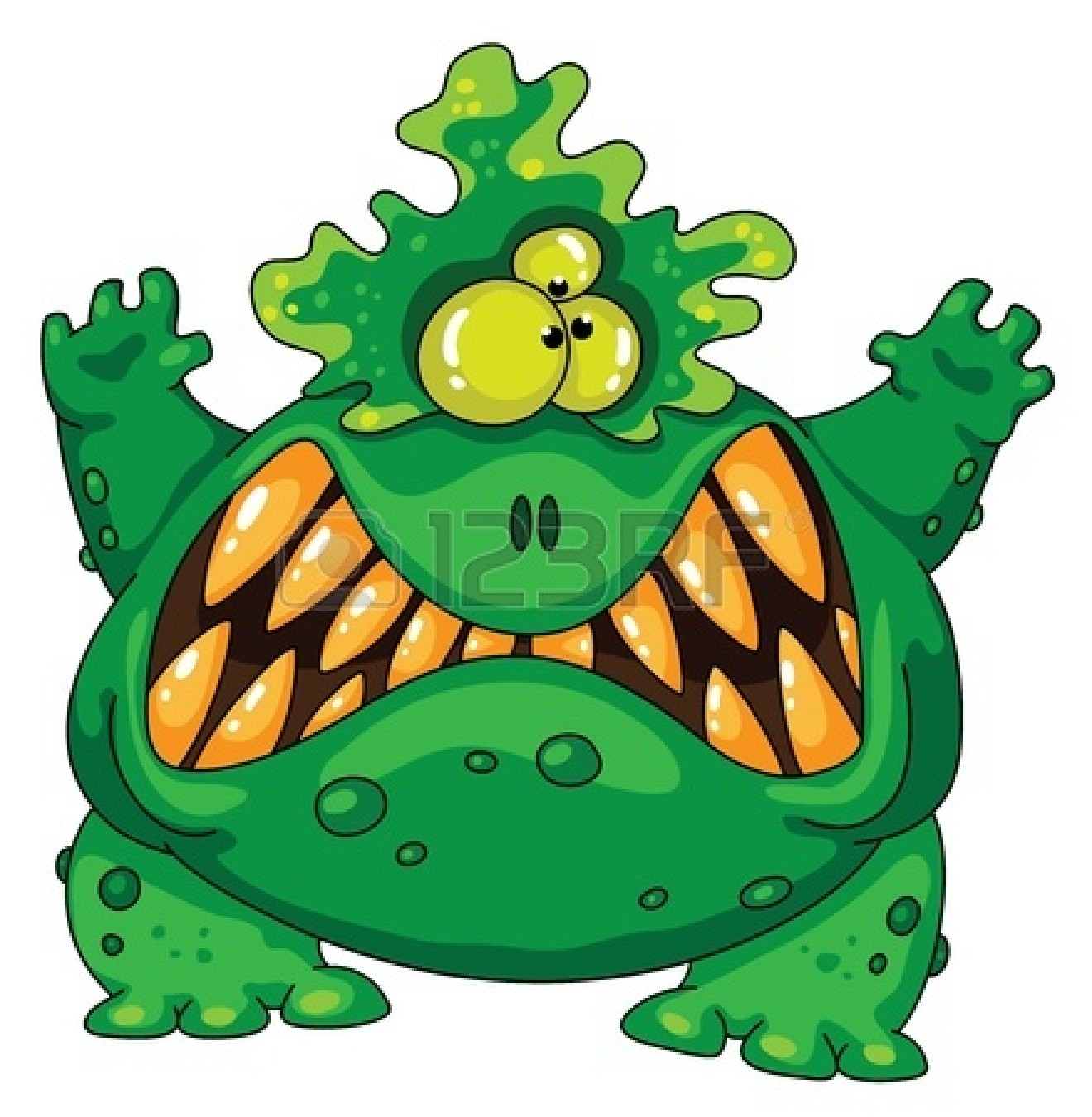 Scary Monster Clipart