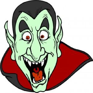 Scary Dracula Clipart