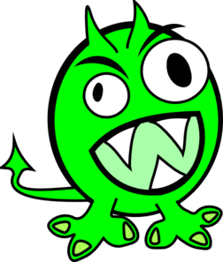 Green Monster Clipart | Clipart Panda - Free Clipart Images
