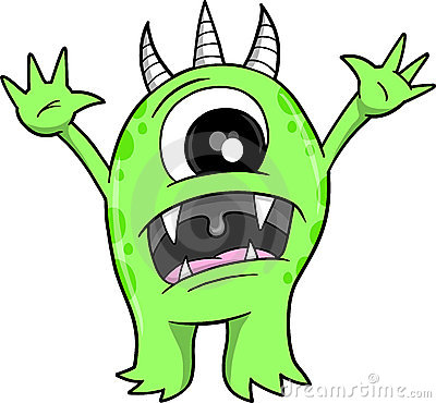 Scary Beast Clipart