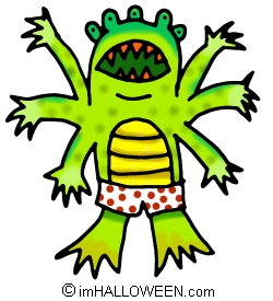 alien monsters clip art image | Clipart Panda - Free ...