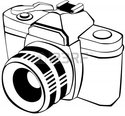 camera line drawing clip art clipart panda free clipart images rh clipartpanda com clipart of camera with flash clipart of a camera
