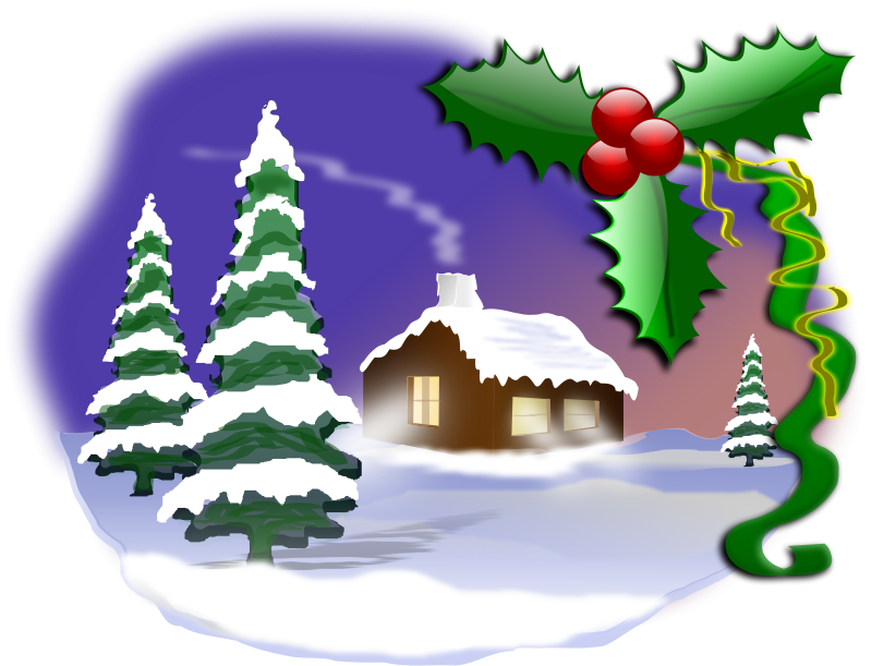 Christmas Images Free Clip Art.Christmas Scene Free Clipart Clipart Panda Free Clipart