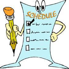 Clip Art for Schedule
