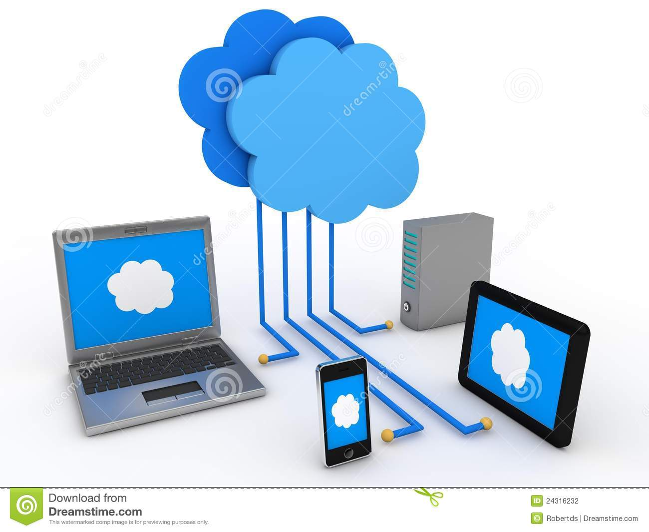Cloud computing scheme | Clipart Panda - Free Clipart Images