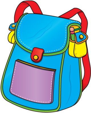 Free Clipart School Backpack