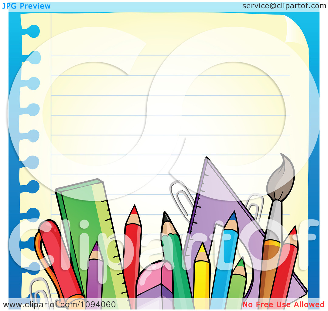 School Supplies Clipart Free | Clipart Panda - Free Clipart Images