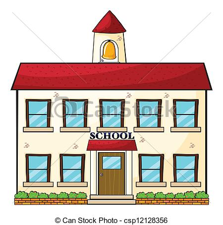 vector a school building clipart panda free clipart images rh clipartpanda com images of school buildings clipart school building clipart black and white