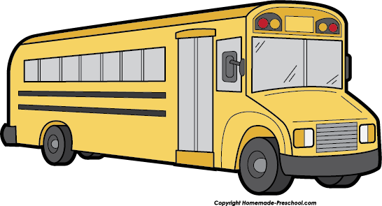 School Bus Clip Art Black And White | Clipart Panda - Free ...