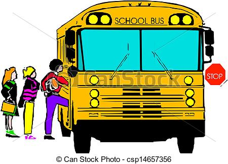 vector school bus with of clipart panda free clipart images rh clipartpanda com school bus stop clipart school bus stop sign clip art