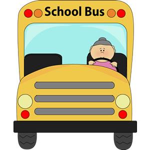 School bus driver clip art