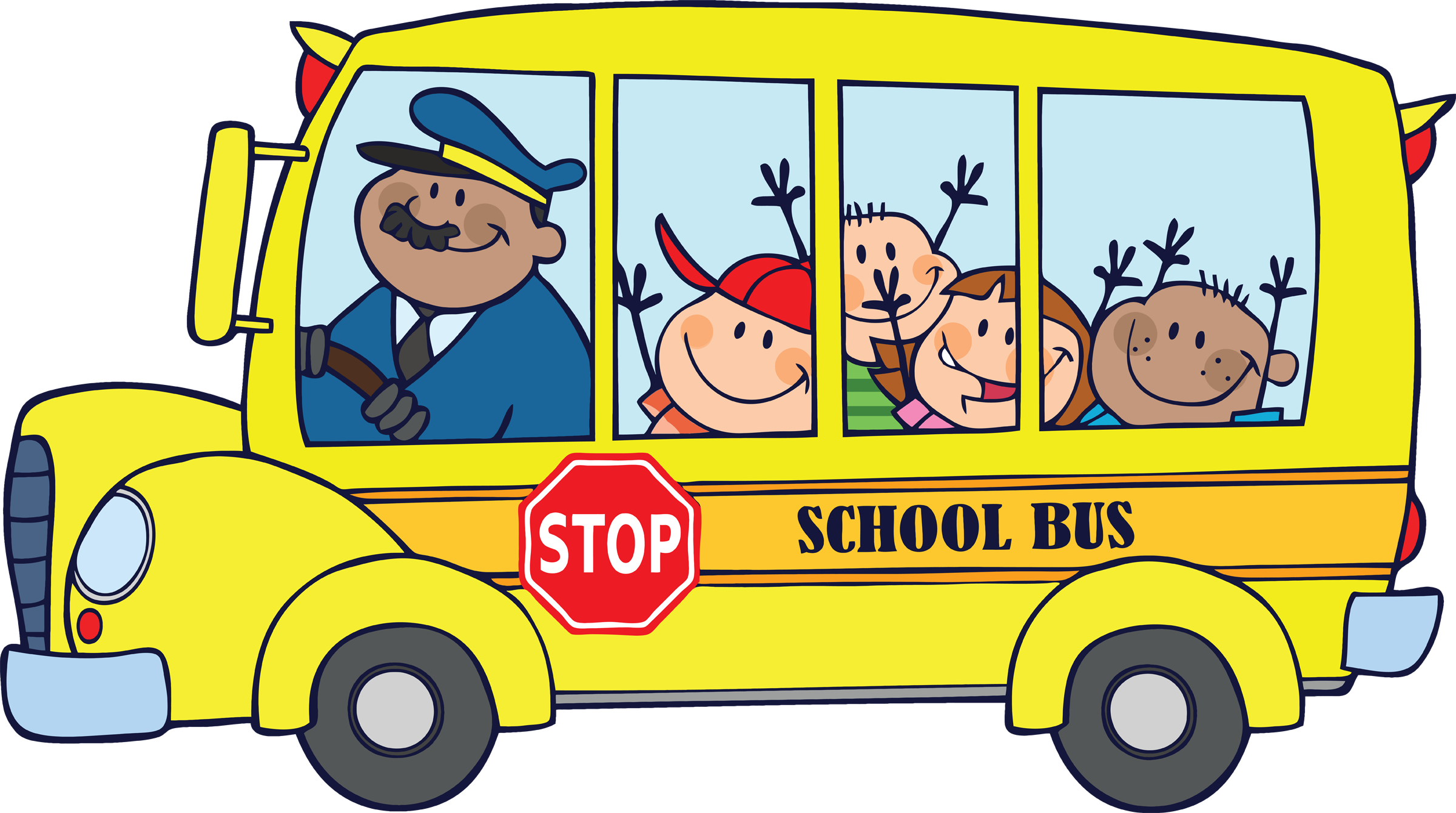 back to school bus clipart - photo #8