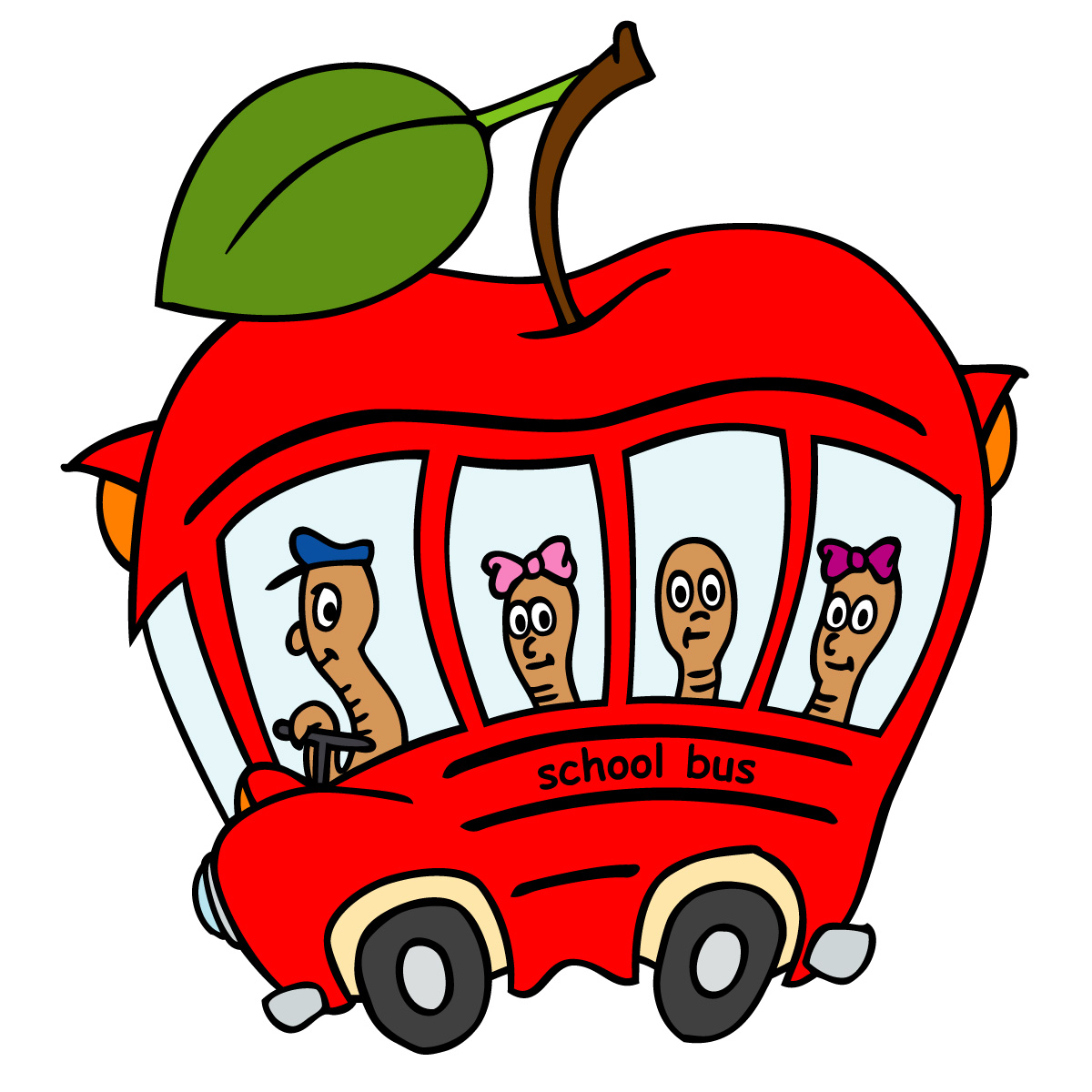 back to school bus clipart - photo #31