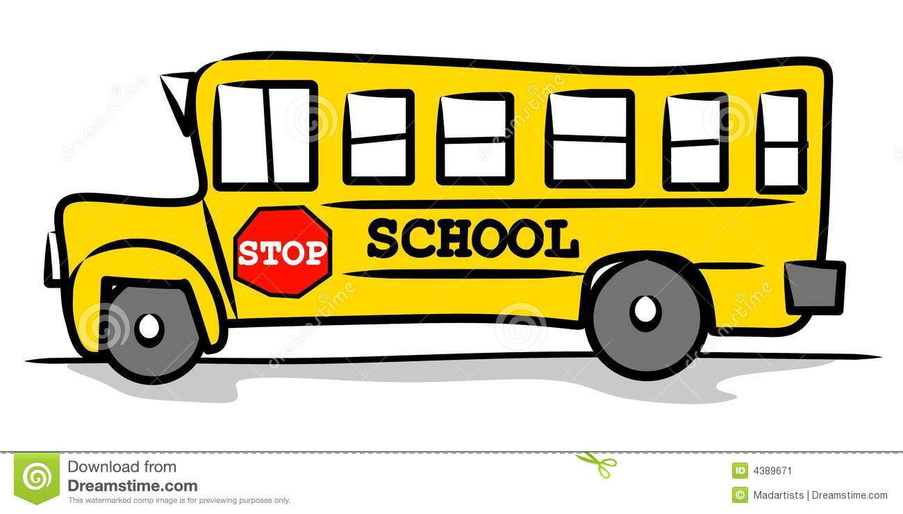 back to school bus clipart - photo #38