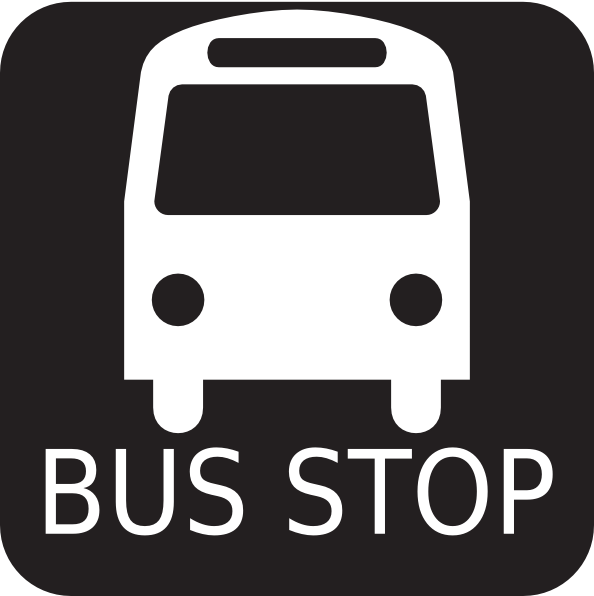 Bus Stop Sign Clipart | Clipart Panda - Free Clipart Images