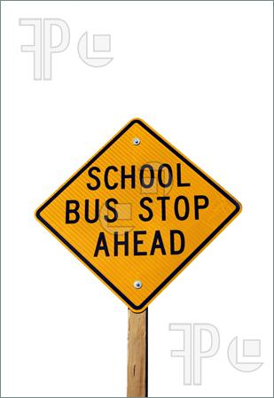 School bus stop ahead sign | Clipart Panda - Free Clipart ...