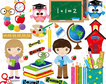 free printable back to school clipart