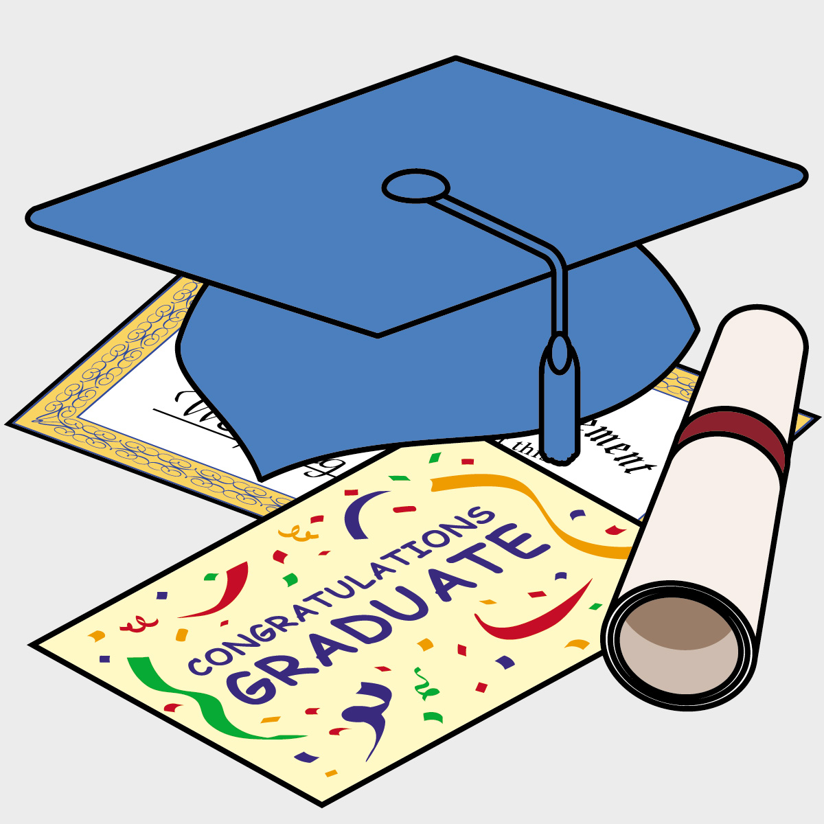 Free Graduation Day Clipart