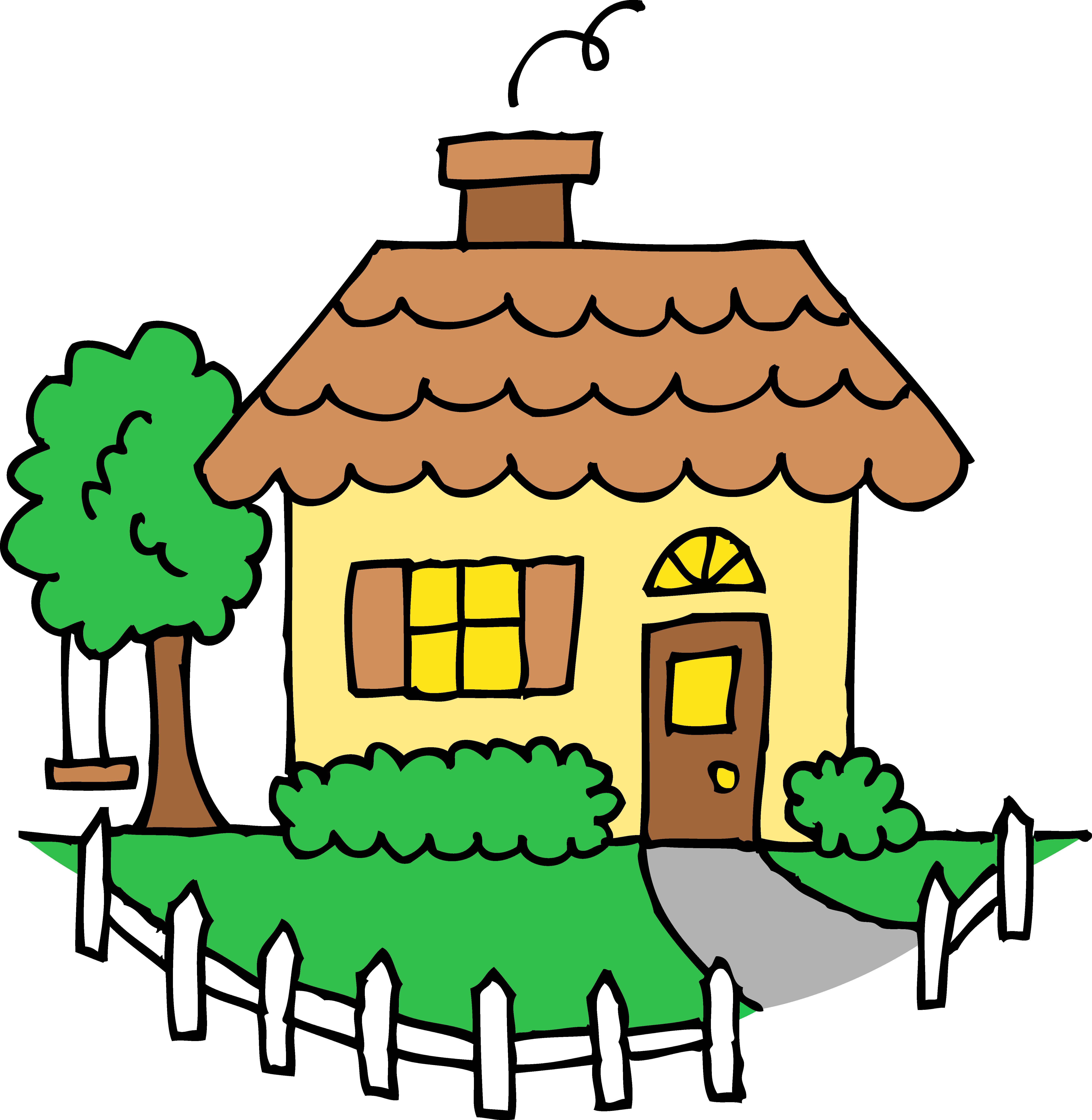 School house clipart free clipart panda free clipart for Cute house pictures