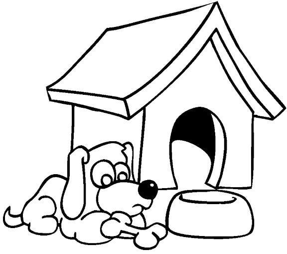 School House Coloring Pages