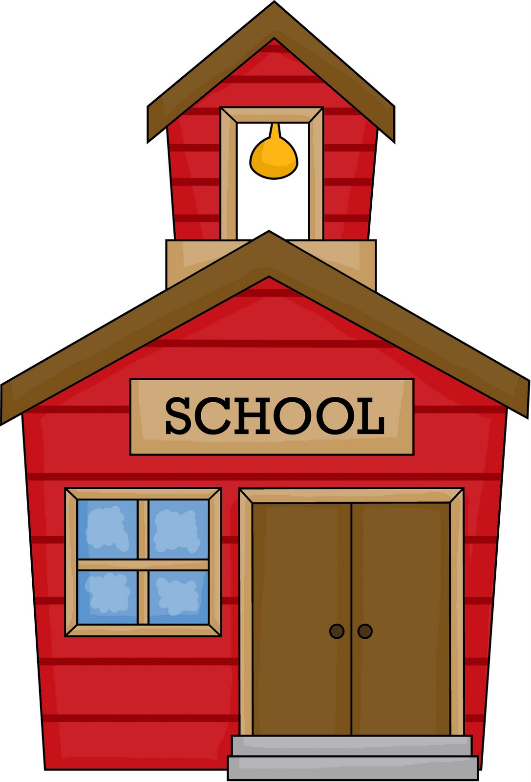 clipart of school