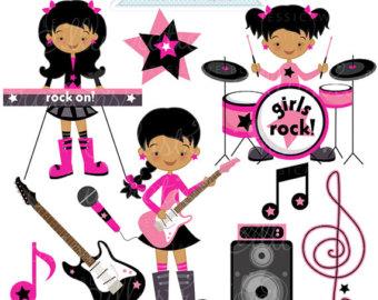 Clipart, Rock Star