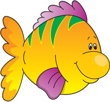 School of Tropical Fish Clip Art