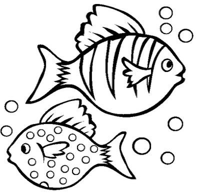 fish coloring page 10
