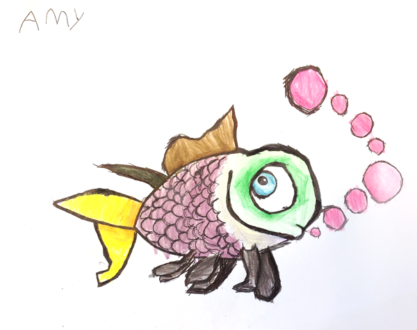 school of fish drawing wwwimgkidcom the image kid