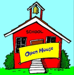 Image result for clip art school open house
